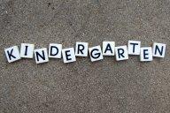 Kindergarten letter tiles