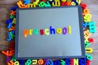Preschool magnet letters