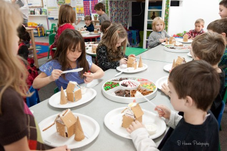 Yum! Gingerbread Houses